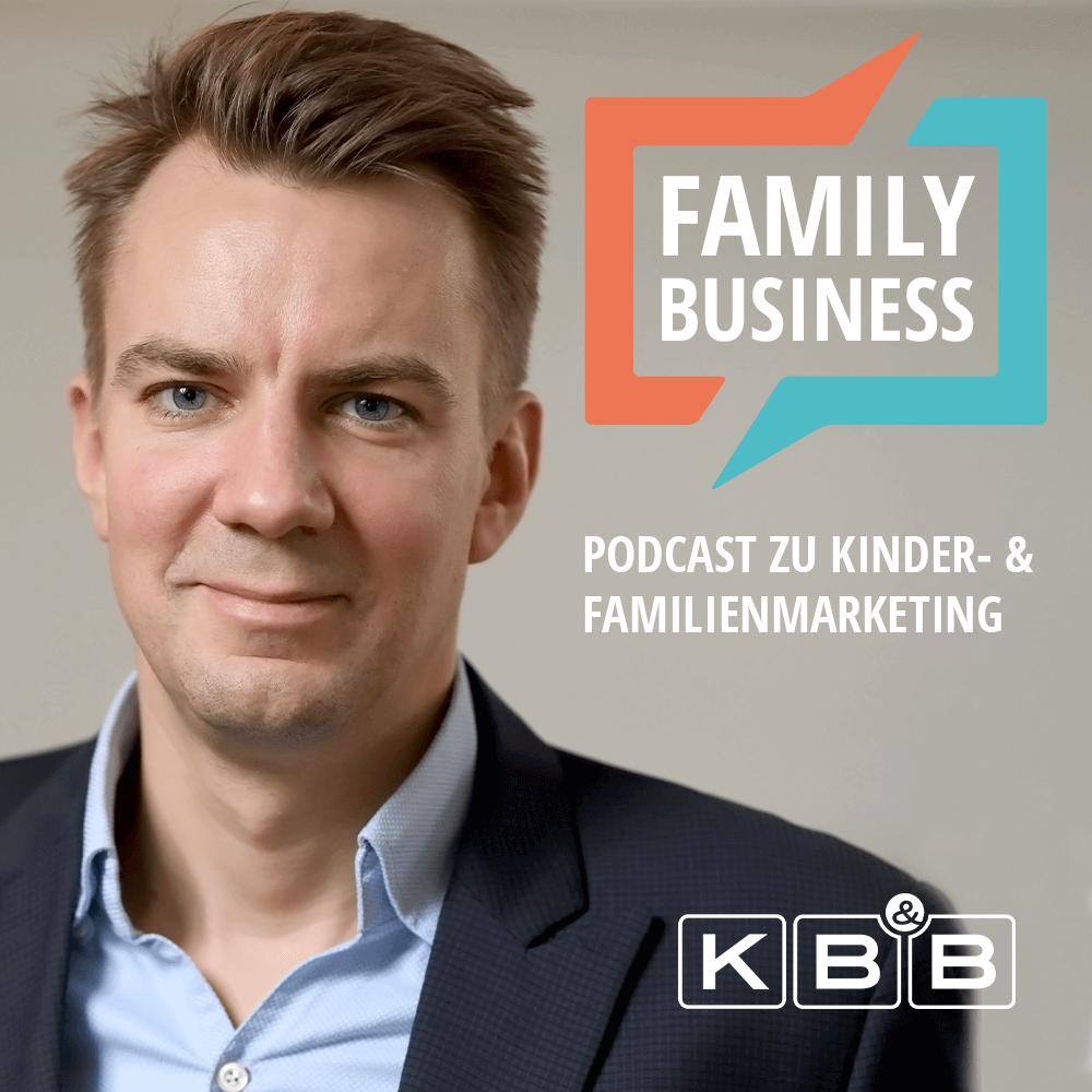 Martin Gerecke auf dem Cover von Family Business