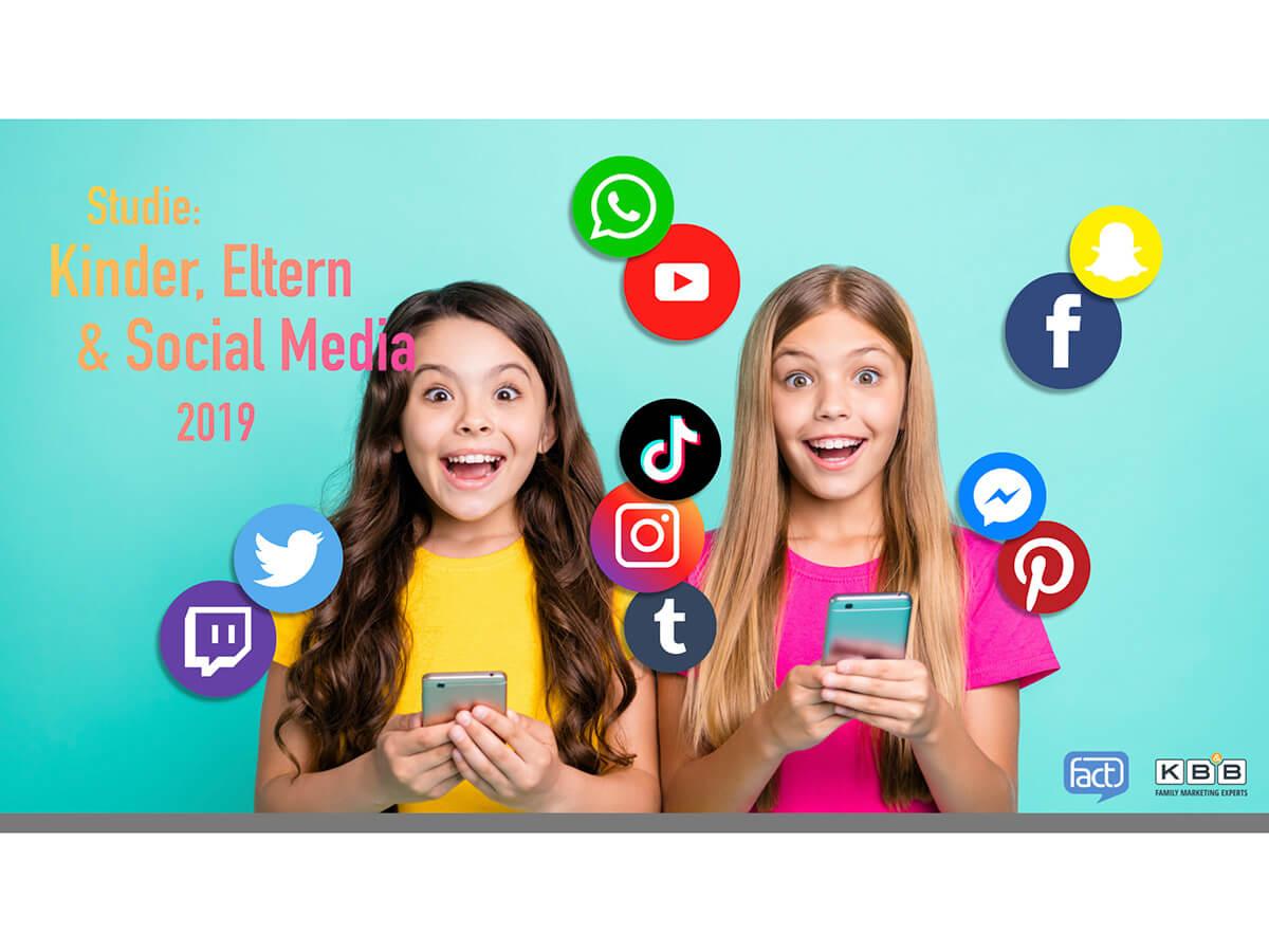 Studie: Kinder, Eltern und Social Media 2019