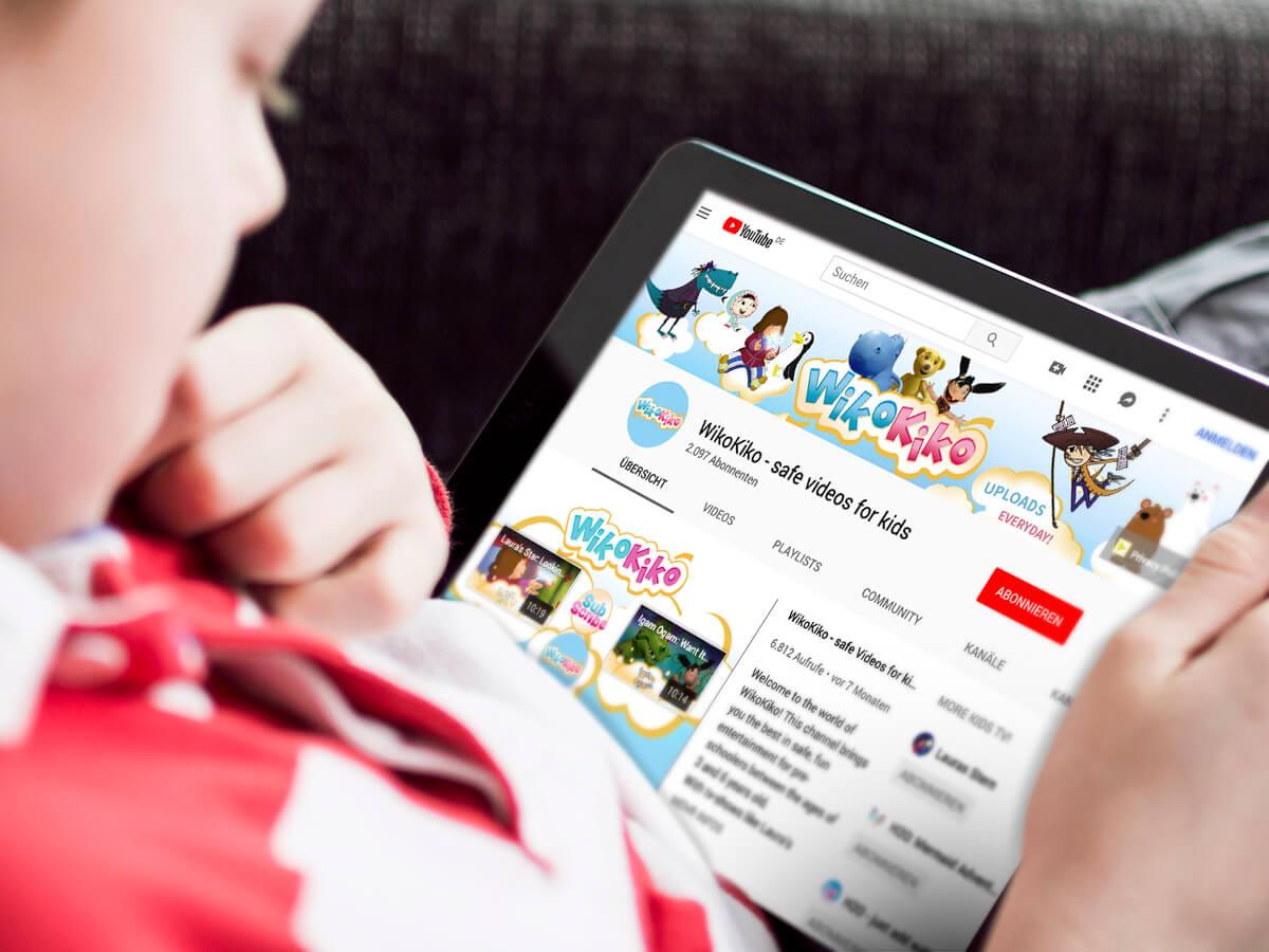 Neue Marken für Kinderkanäle via YouTube
