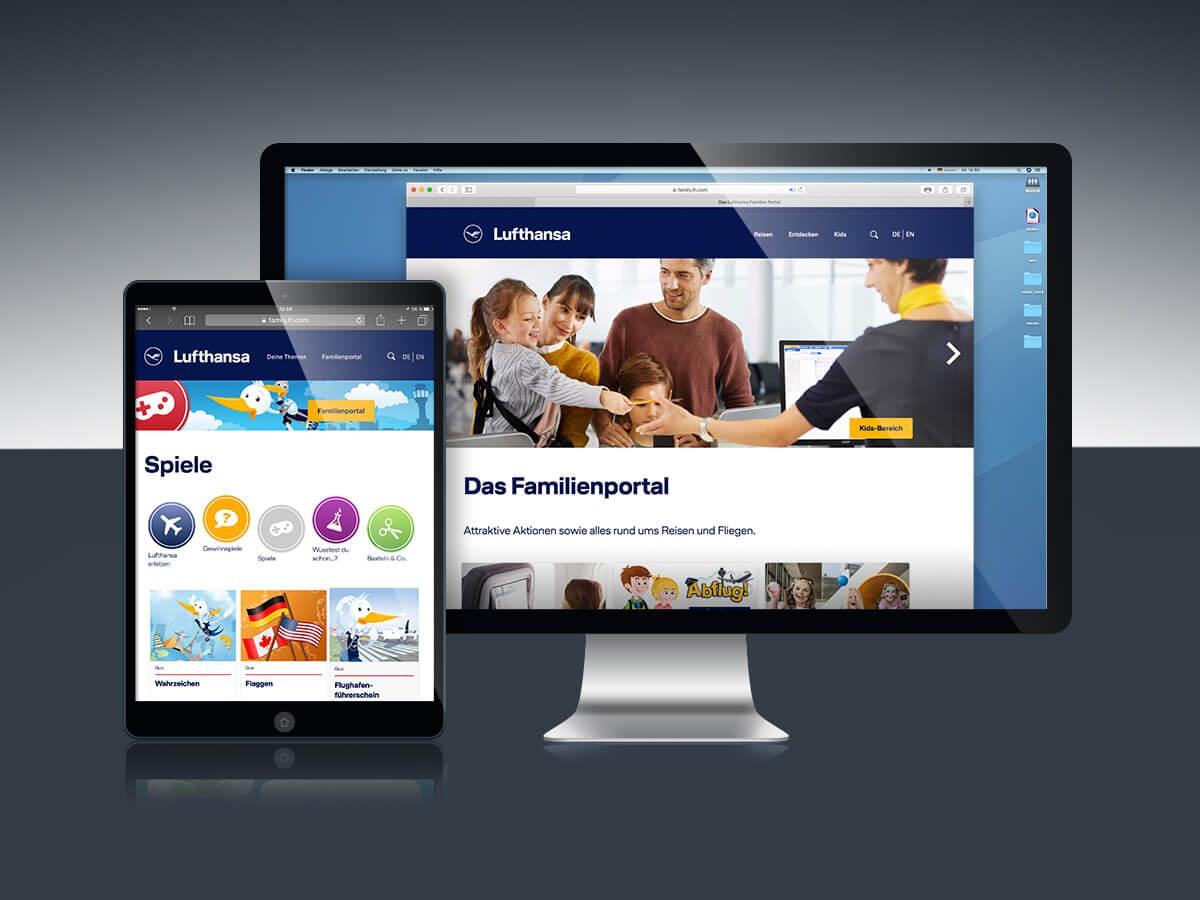 Strategie: Lufthansa Family Hub
