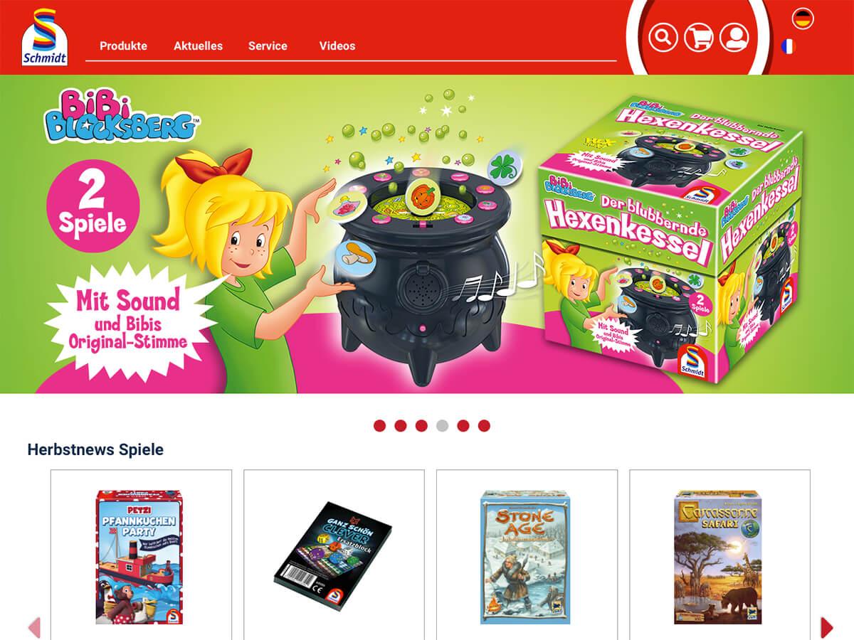 Website: Schmidt Spiele