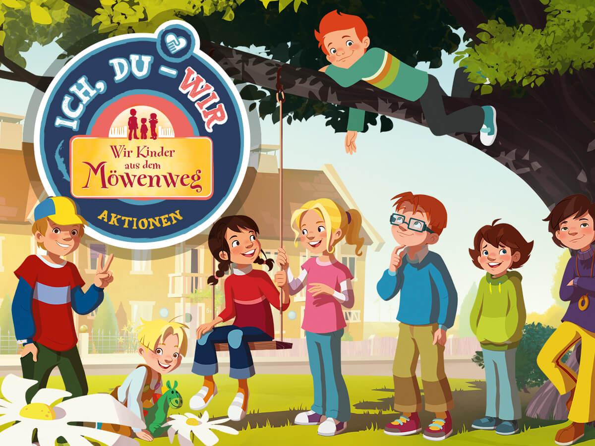Wir Kinder aus dem Möwenweg - die Kindergarten-Aktion für gegenseitige Wertschätzung
