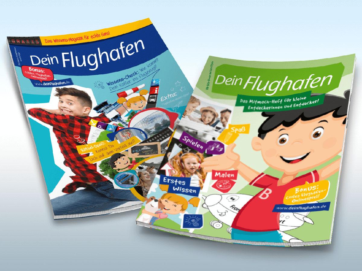 Das Magazin für Schule und KiGa - Entdeckungstour am Flughafen