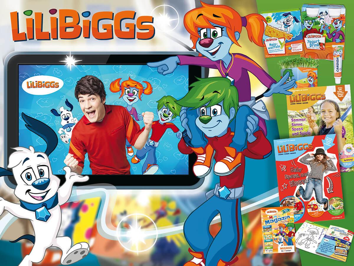 Markenentwicklung: Lilibiggs