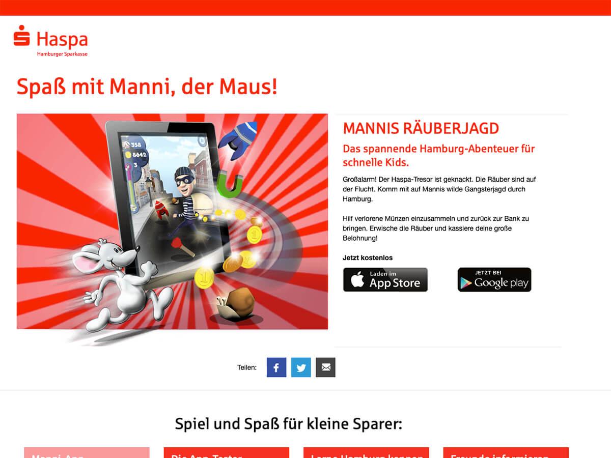 App: Mannis Räuberjagd