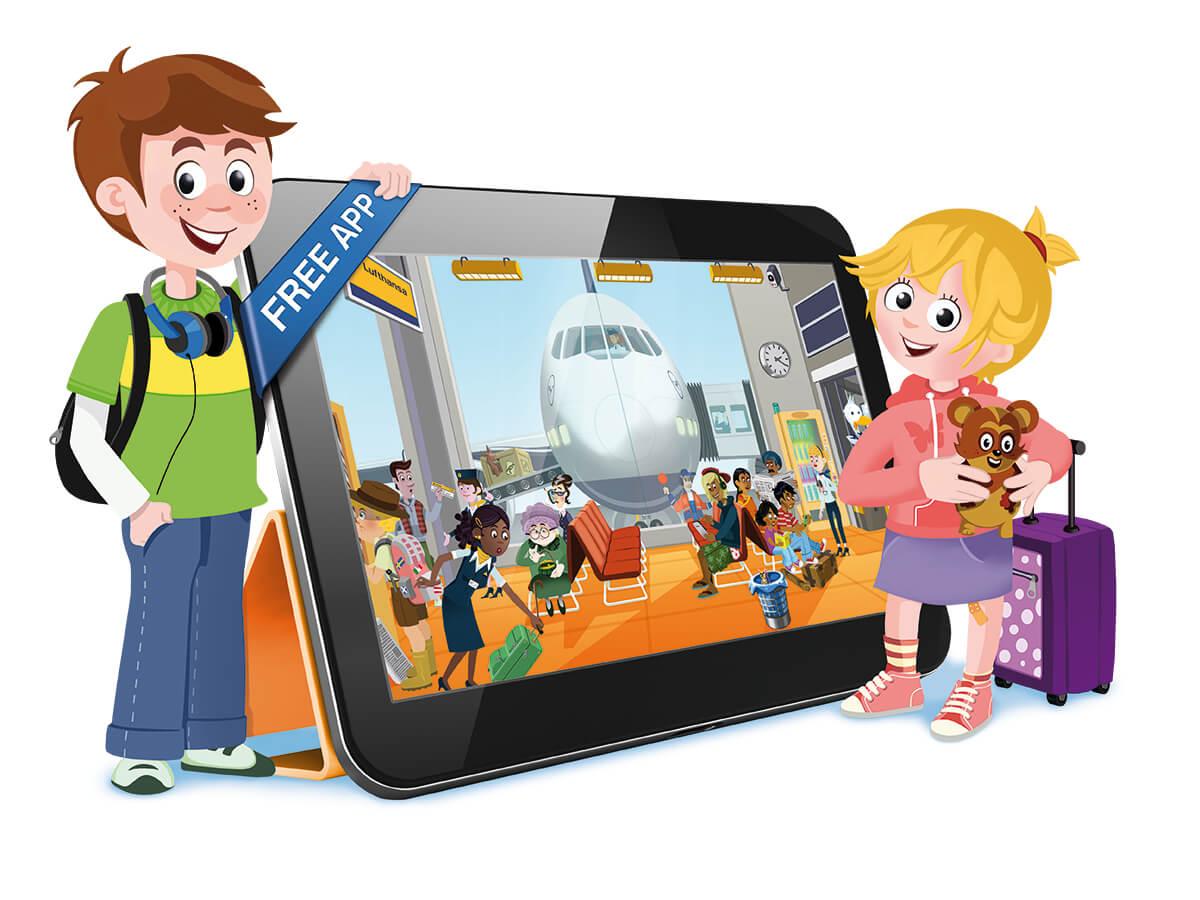 App:  Abflug! Die lustige Wimmelreise für kleine Passagiere