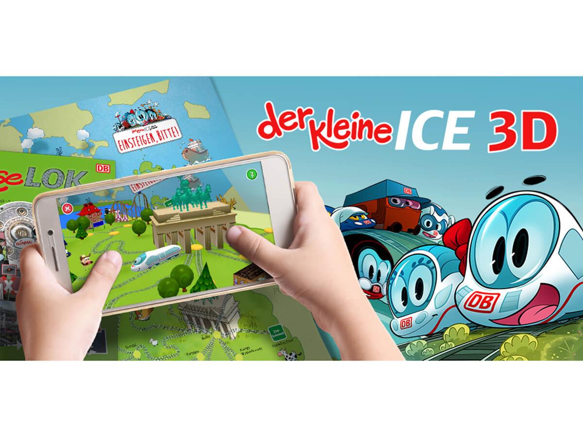 Die App für den KLEINEN ICE in 3D