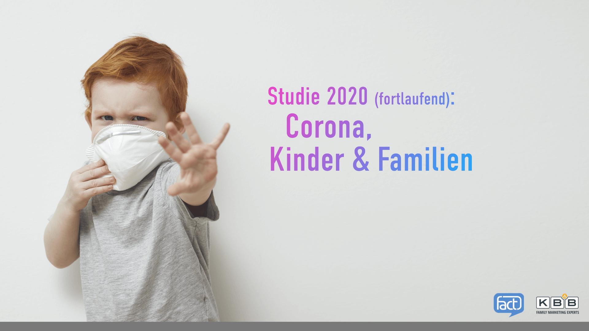 Studie: Corona, Kinder &Familien - 2020