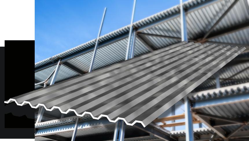 Corrugated Stainless Steel Flooring & Floor Decking