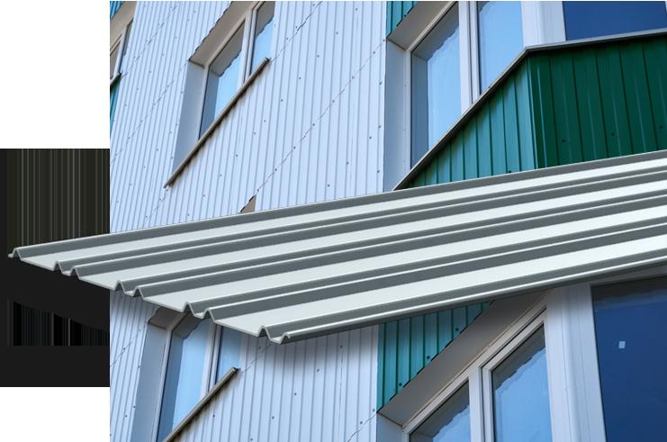 Corrugated Metal Siding & Panels - Stainless & Aluminum