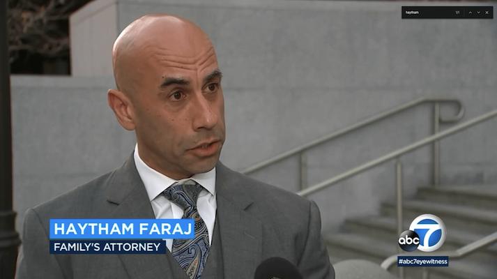 Haytham Faraj on TV