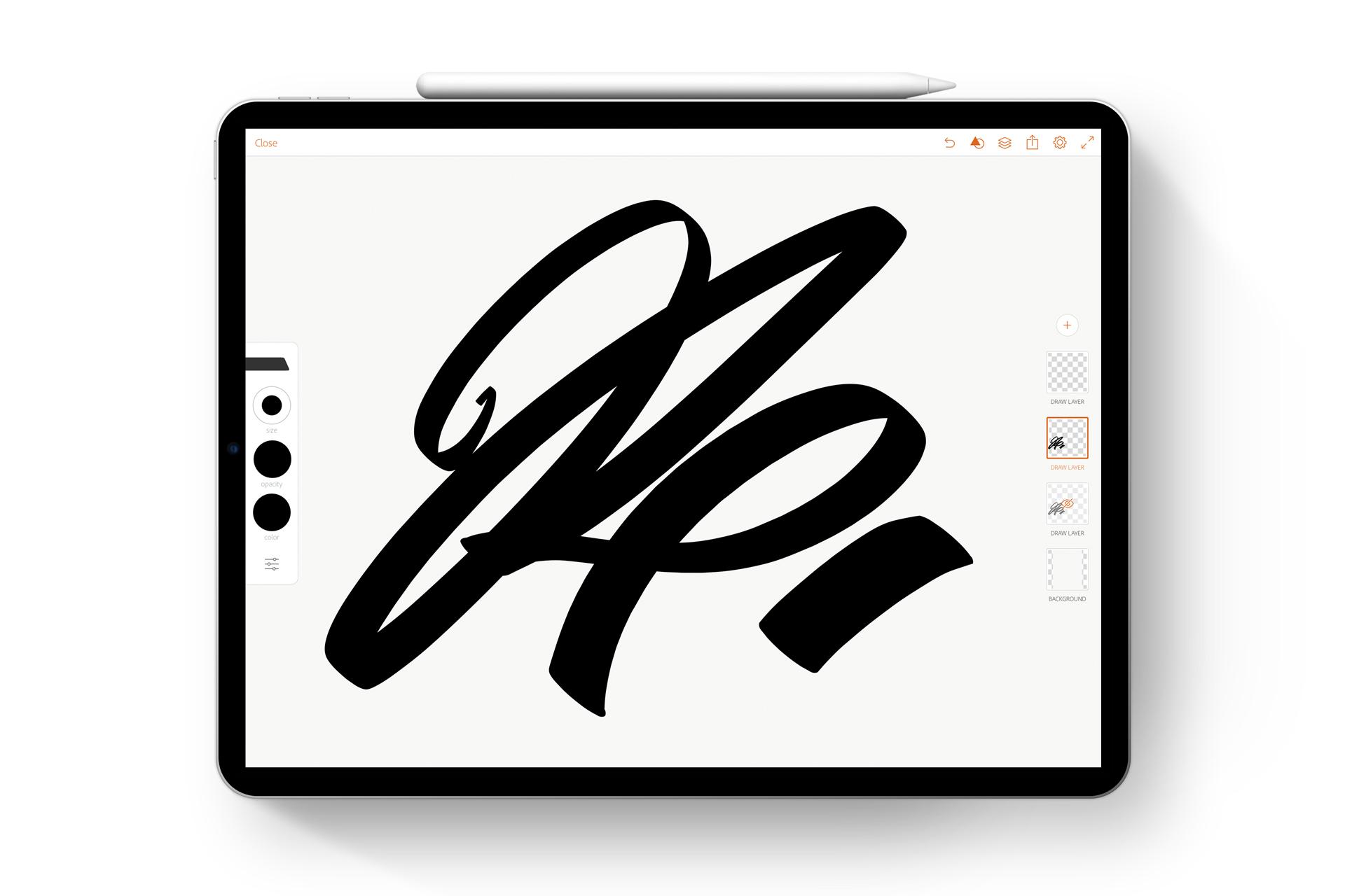 Resplendence iPad logo file