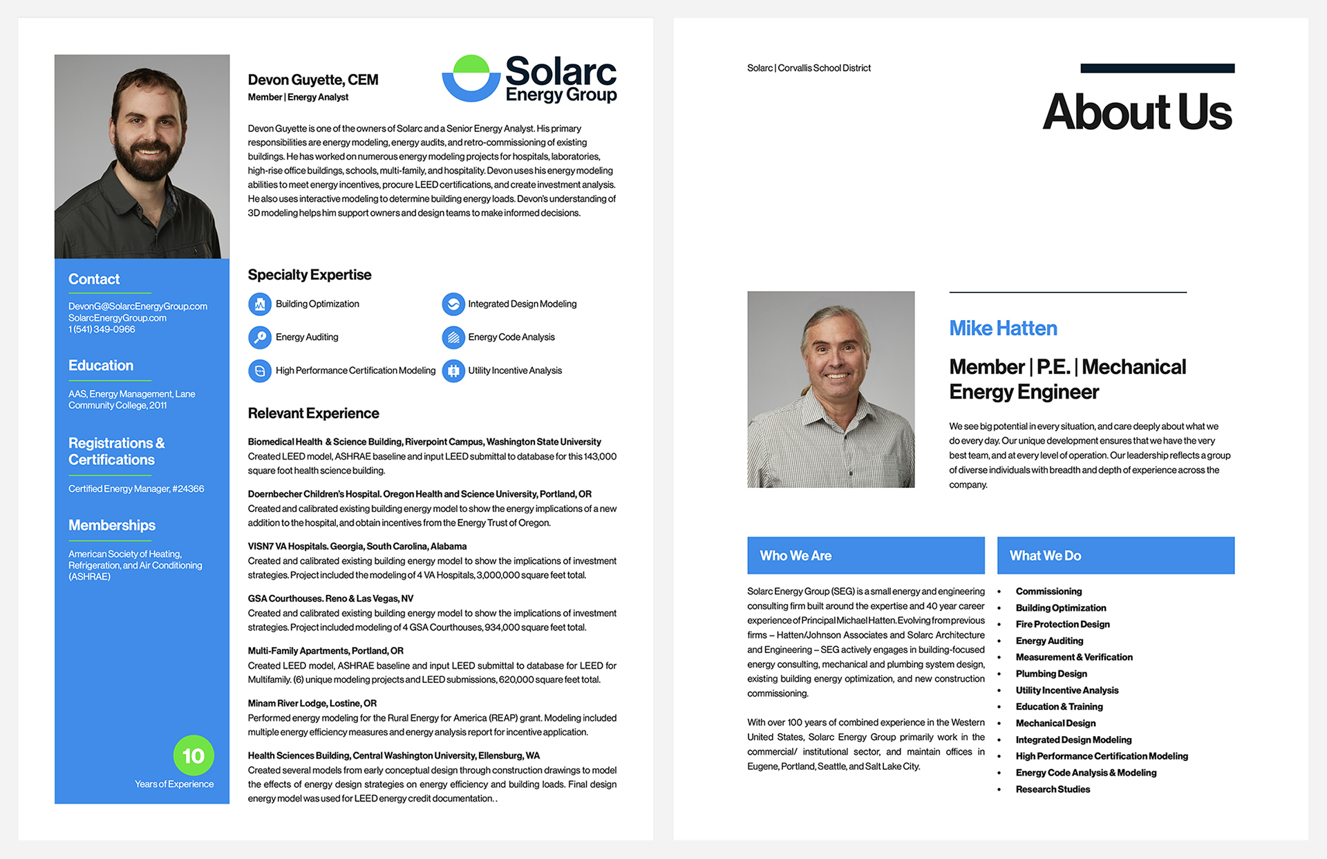 Solarc print collateral