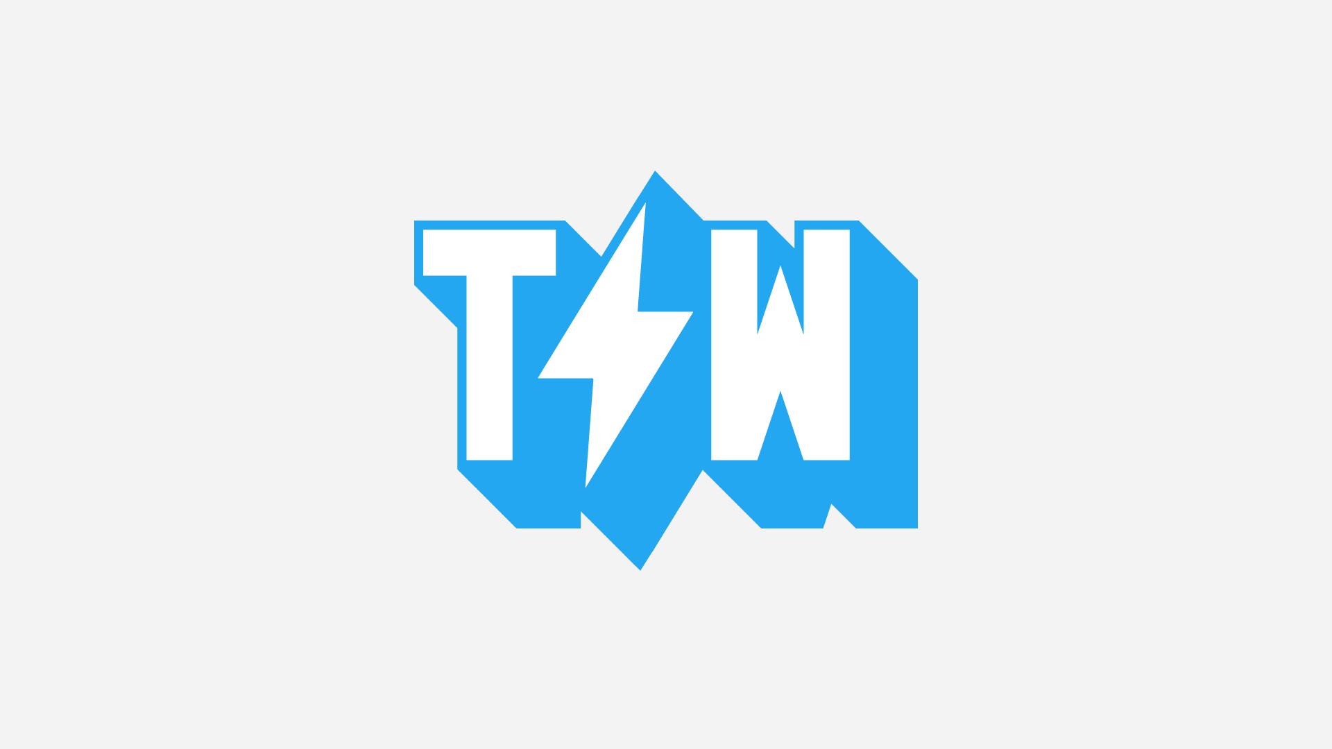 Letter mark for Two Wolves Creative. Modern Logo Design.