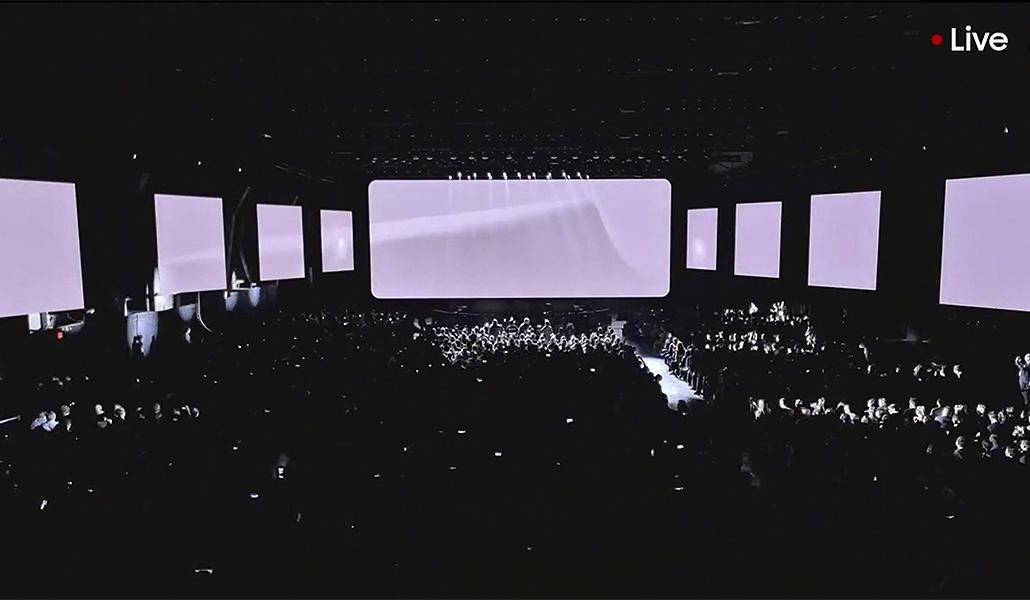 Direktesendt lansering av Samsung Galaxy S20 på TV 2