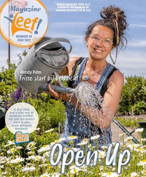 Leef magazine 30 cover