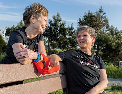 Blind hardlopen: met je buddy op pad