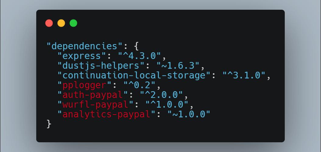 external dependencies coding