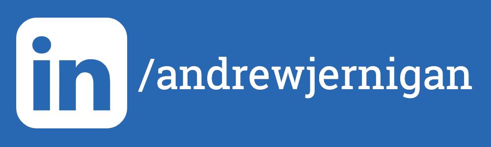 Linkedin with Andrew Jernigan