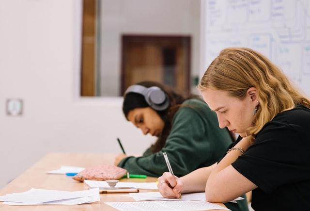 Schüler lernen