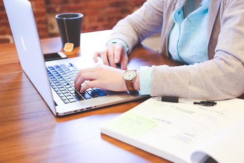Laptop Schreiben