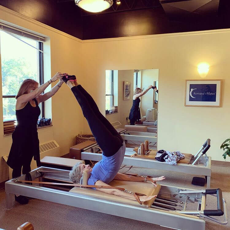 Touchstone Pilates in studio picture