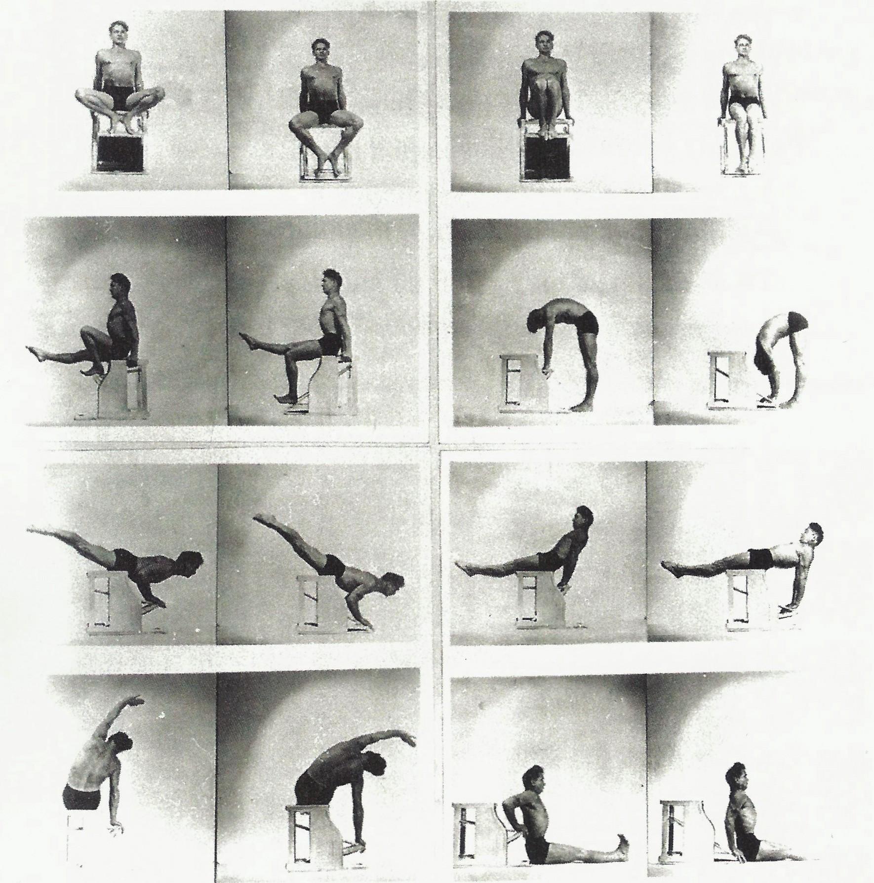joe pilates collage