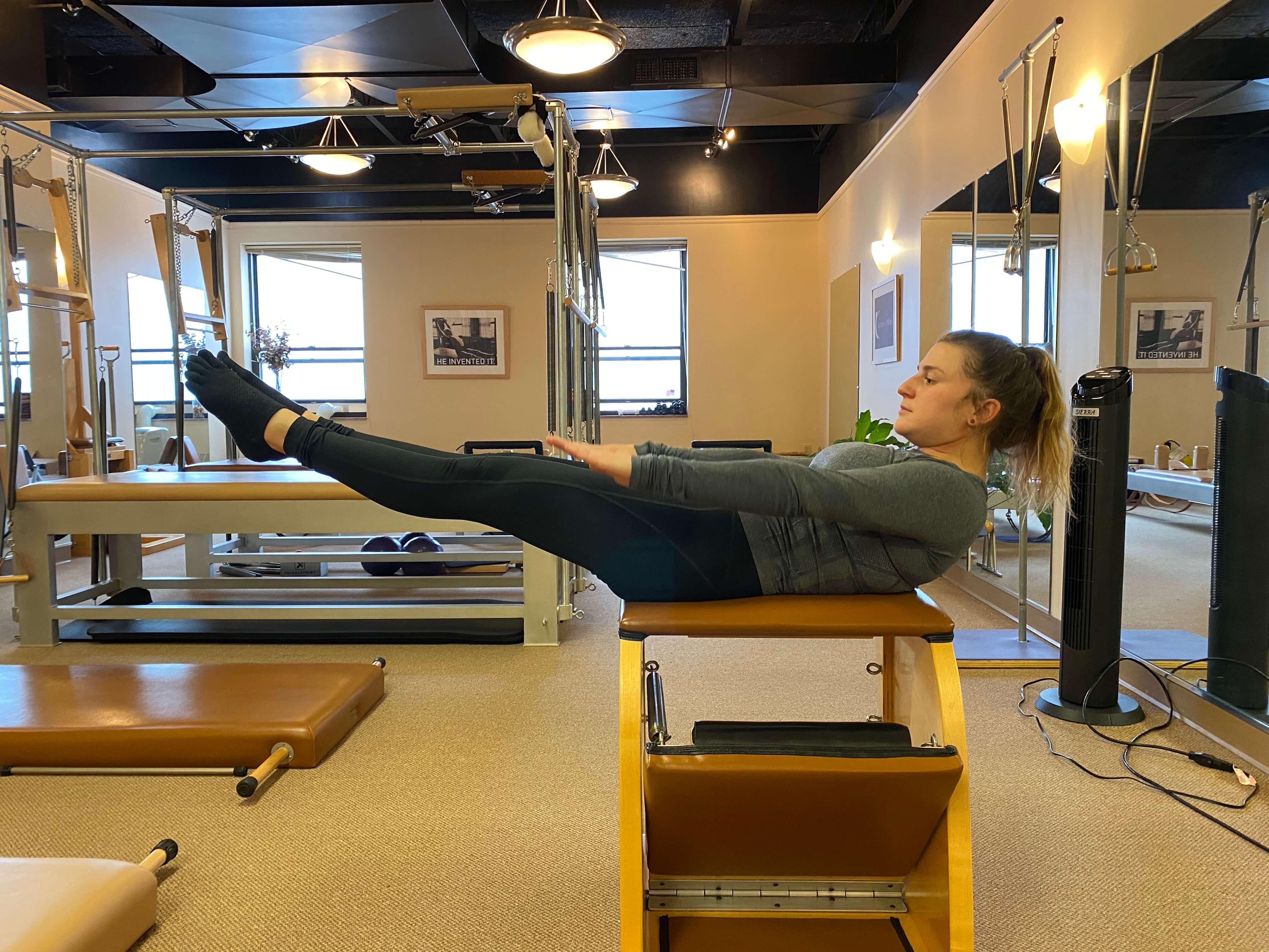 Touchstone Pilates in studio picture
