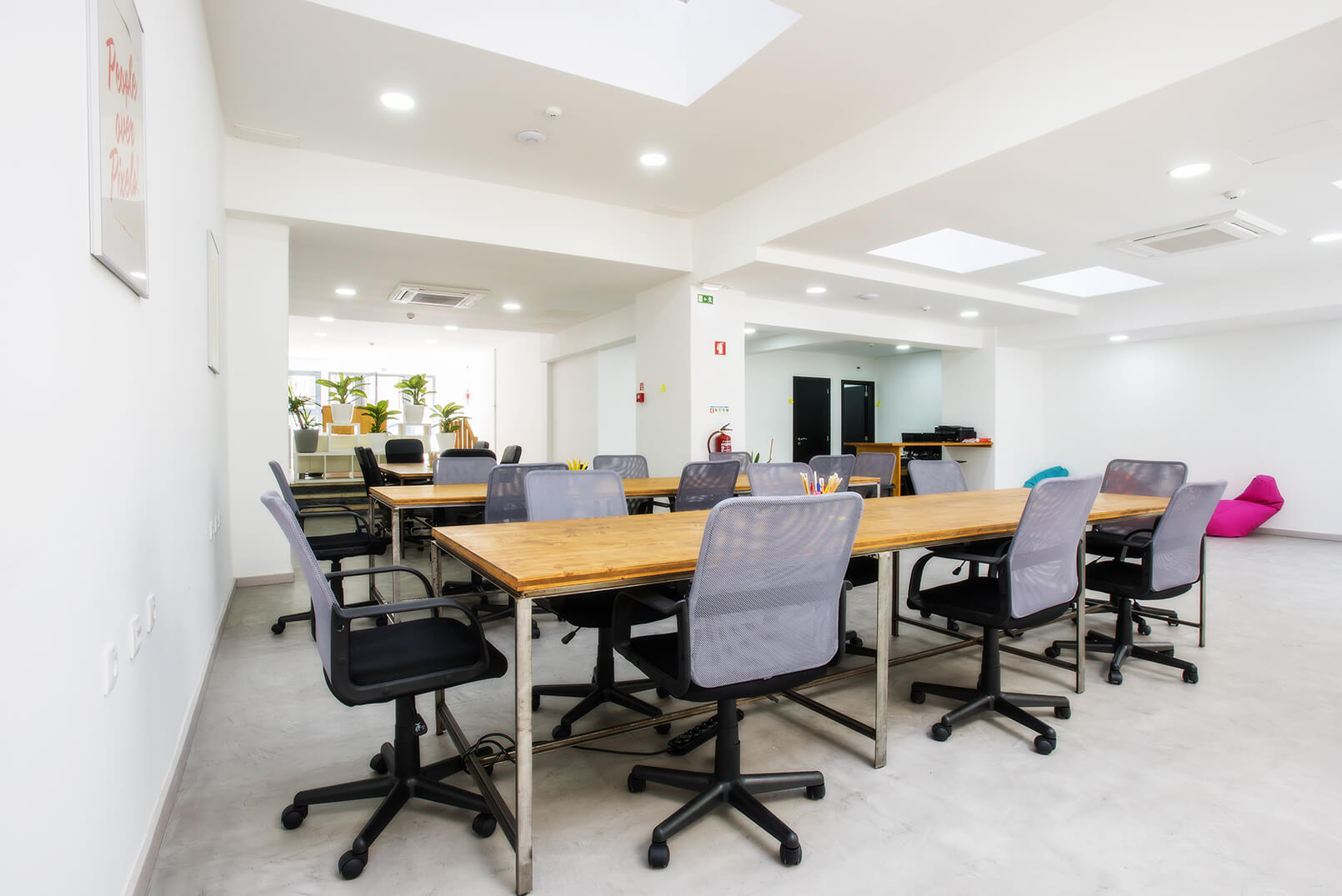 workspace area