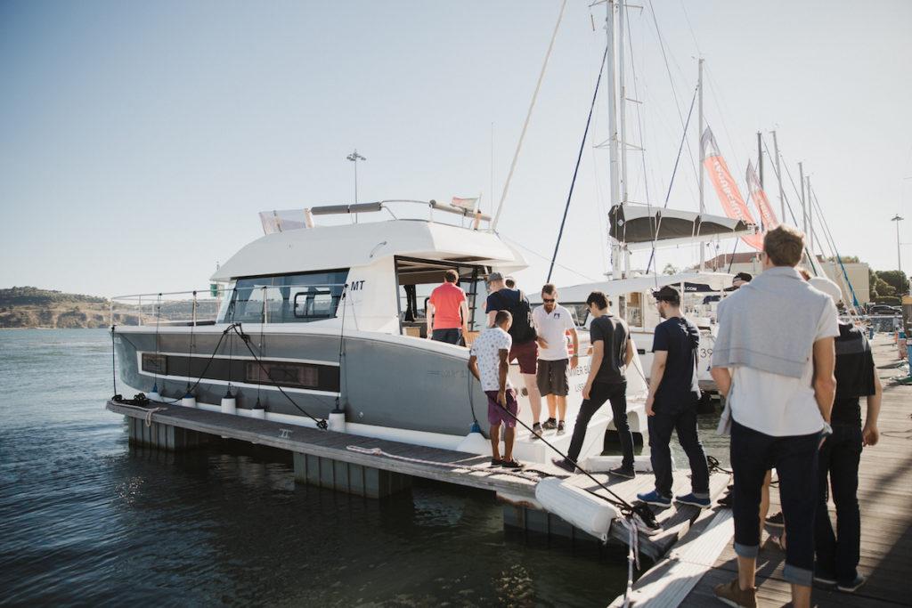 company retreat activity sailing