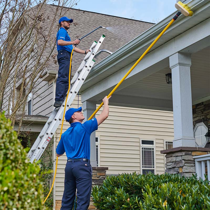 House washing in Charlotte, NC