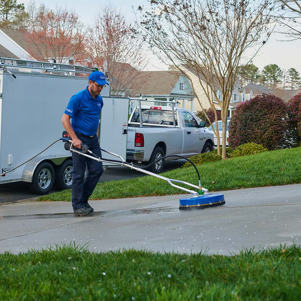 Driveway cleaning in Charlotte, NC