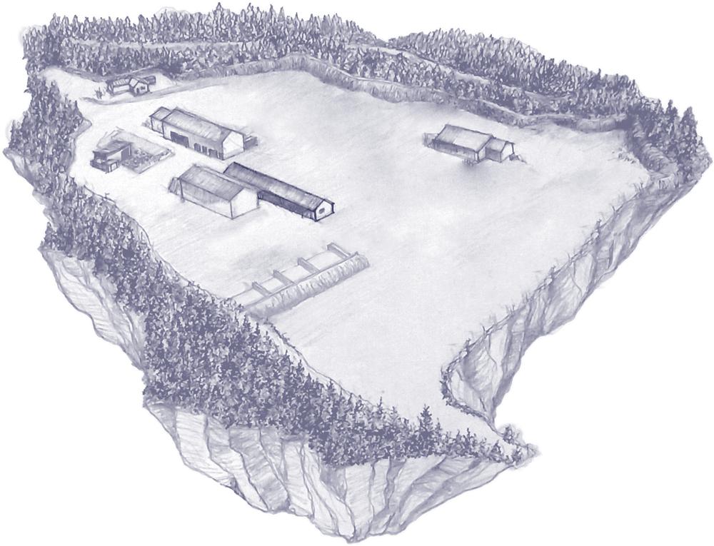Lager og produksjonshall