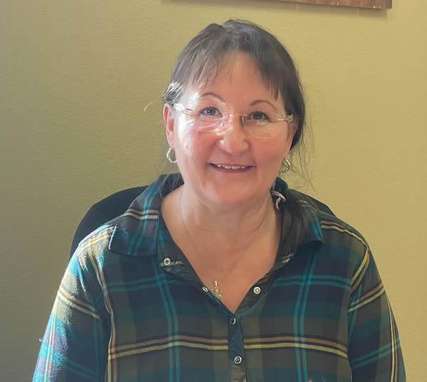 Debbie Mickelson is secretary