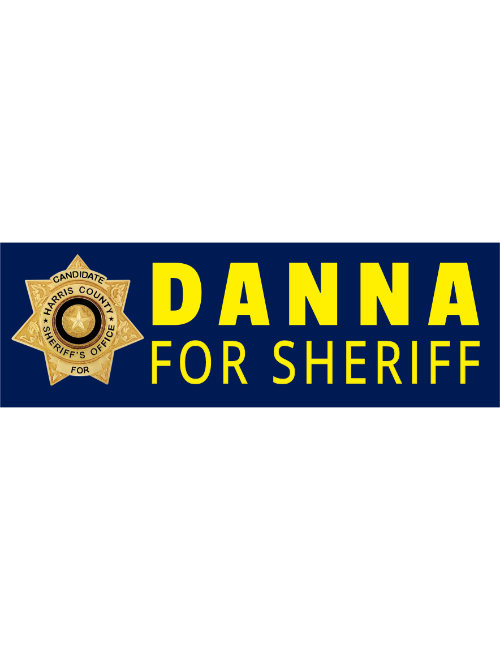Danna for Sheriff branding