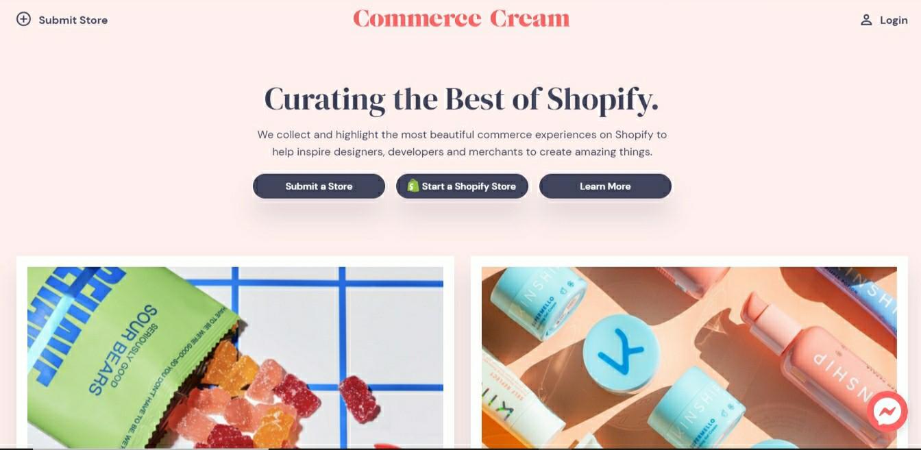 Commerce cream