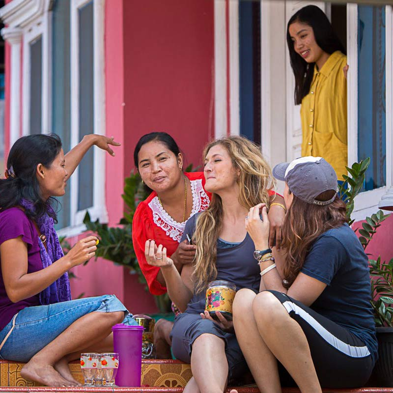 Go on your trip - group of women enjoying time together