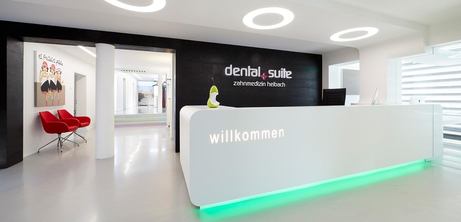 Z-MVZ dental suite Rösrath- Empfang