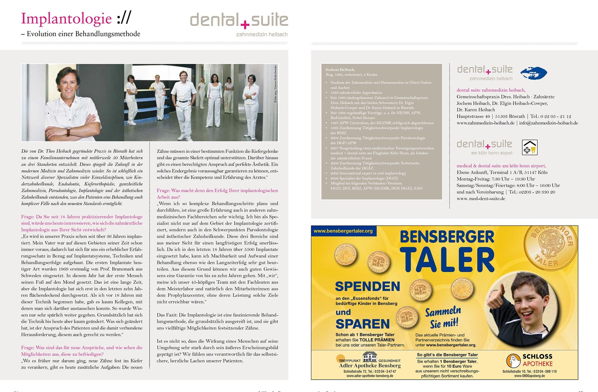 Z-MVZ dental suite - Pressemitteilung: Implantologie als Evolution