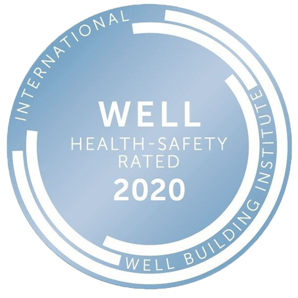 WELL Health Safety Rated Badge