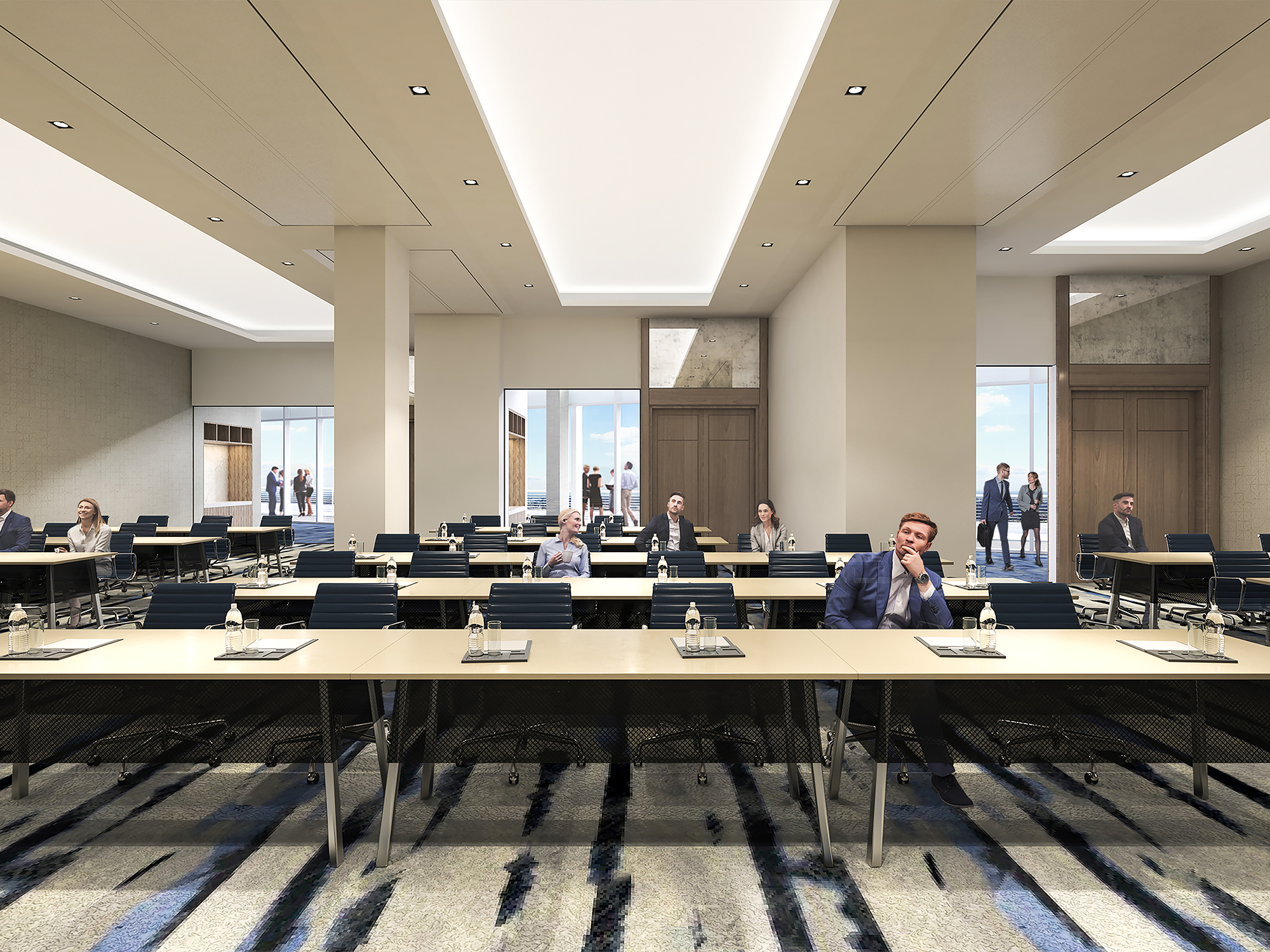 50-Person Conference Center with State-of-the-Art Technology