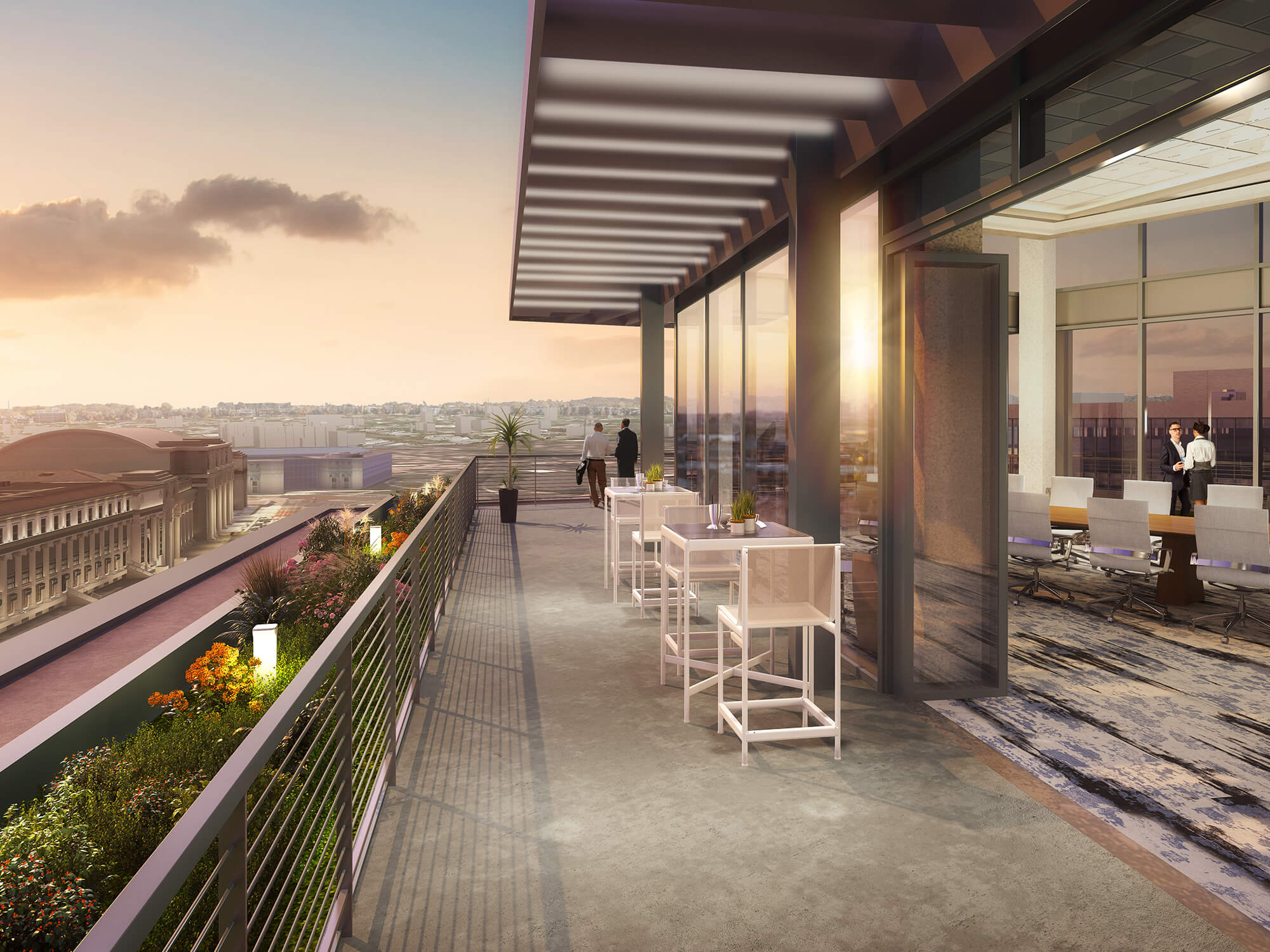 Exclusive Amenity Penthouse with City Views