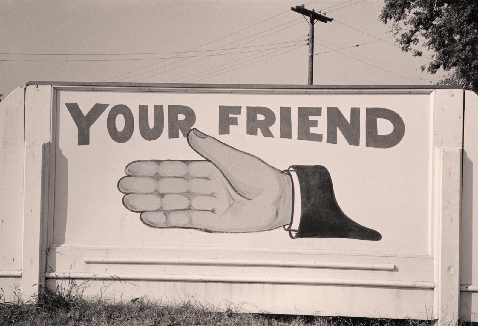 Your friend hand
