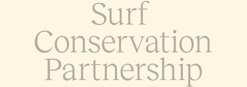 Sunnyside works with Surf Conservation Partnershop