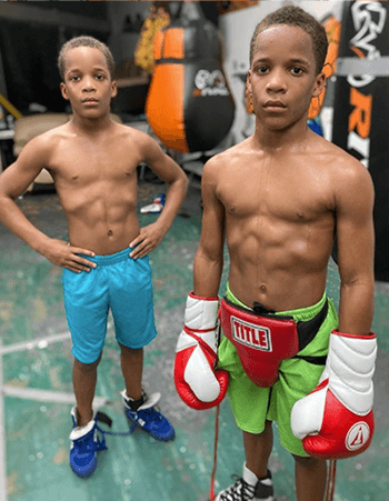 On March 20, Instagram account @grandytwinsboxing shared a clip in which Philadelphia twins Daniel and Steven Grandy are seen practicing their boxing skills. Daniel shows Steven how to properly perform an uppercut before bringing out a pad for the latter to punch.