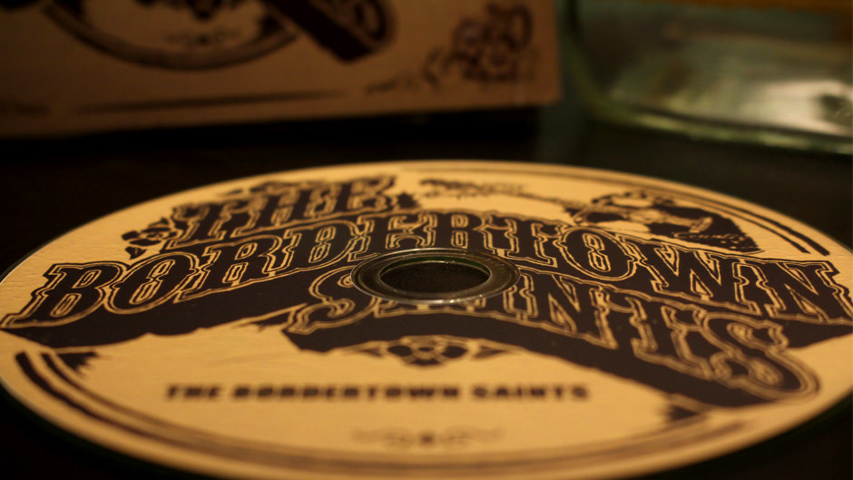 Bordertown Saints CD