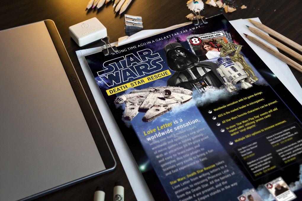 Star Wars Death Star Rescue Print