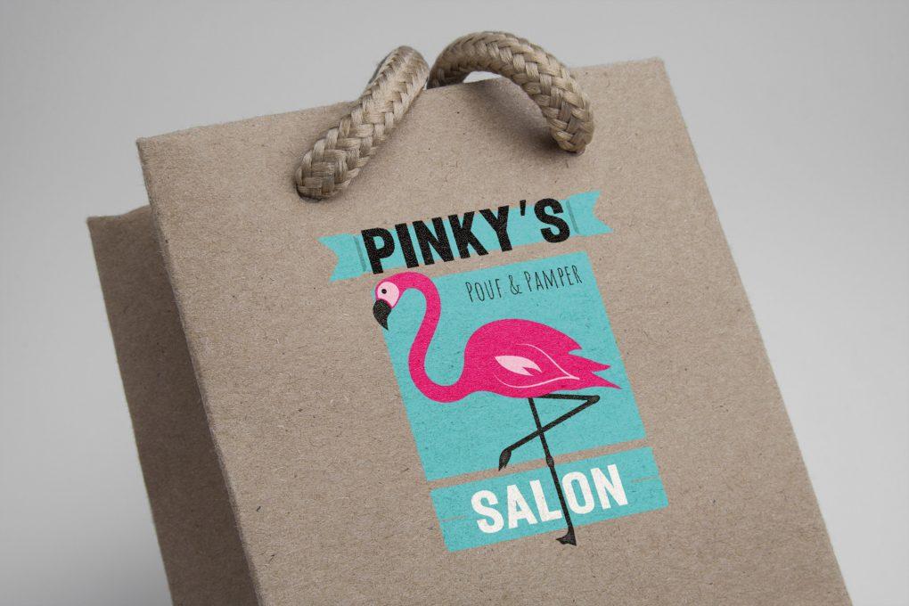 Pinky's Salon Bag