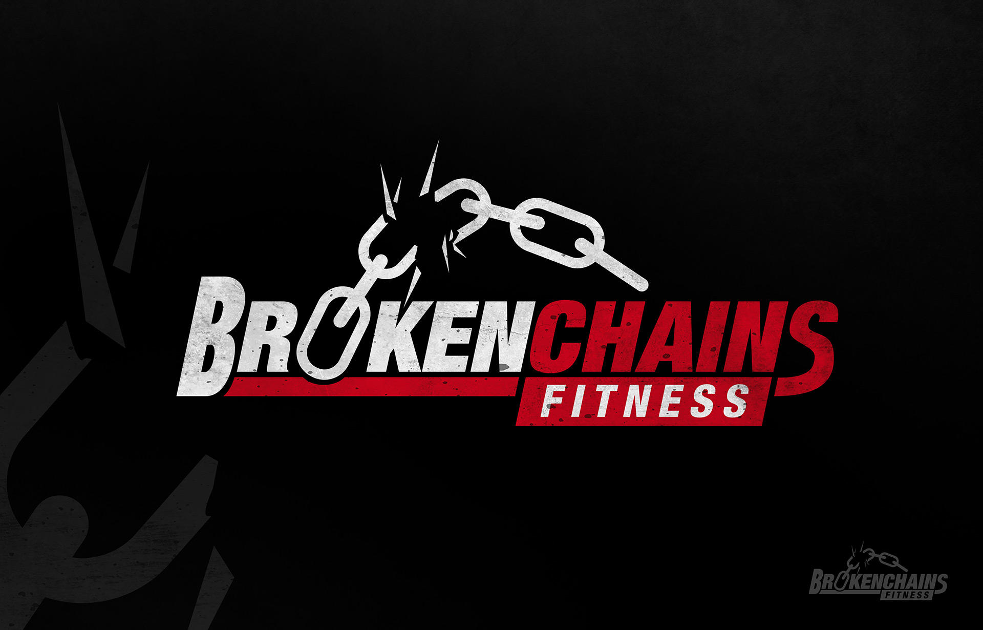 Broken Chains Fitness Logo