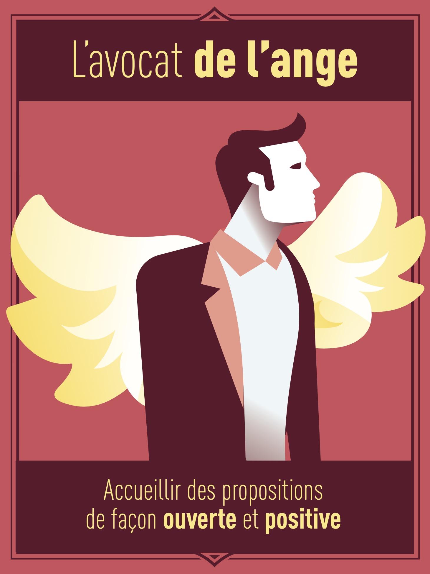 L'avocat de l'ange : Accueillir des propositions de façon ouverte et positive